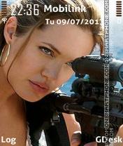 Angelina es el tema de pantalla