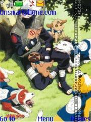 Naruto Kakashi theme screenshot