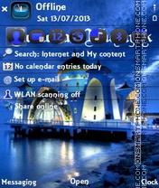 Blue Ramzan es el tema de pantalla