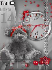 Teddy Bear es el tema de pantalla