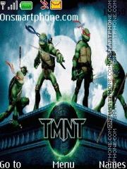 Ninja Turtle theme screenshot