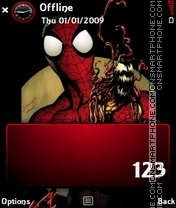 Spider theme screenshot
