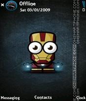 IronMan es el tema de pantalla