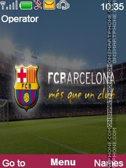 Barca Theme theme screenshot