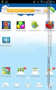 Cloud 02 es el tema de pantalla