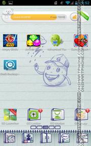 Doodle Book es el tema de pantalla