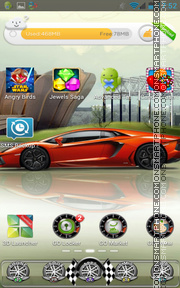 Racing 02 tema screenshot