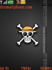 One Piece V2 theme screenshot