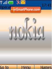 Nokia 05 Tone es el tema de pantalla
