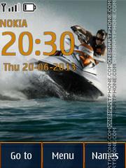 Jet Ski theme screenshot