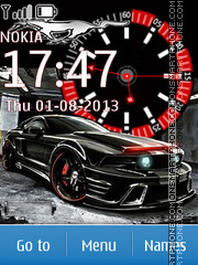 Car theme screenshot