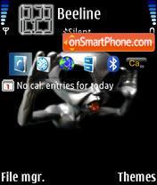 Alien 04 theme screenshot