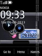 Music Mouse es el tema de pantalla