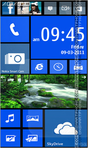 Nokia Lumia 921 tema screenshot