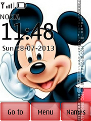Mickey With Ringtone theme screenshot