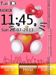 Hello Kitty 48 es el tema de pantalla