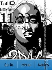 Tupac Shakur 02 es el tema de pantalla