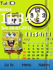 Spongebob Gadgets theme screenshot