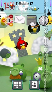 Angry Birds 2027 theme screenshot