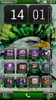 Fradi 01 theme screenshot
