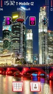 City Nightlights es el tema de pantalla