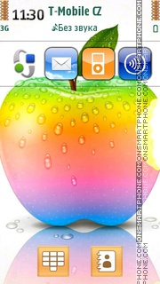 Apple 28 theme screenshot