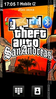 Gta San Andreas 14 theme screenshot