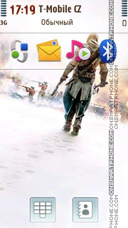 Connor - Assassins Creed III es el tema de pantalla