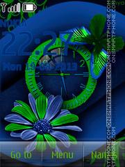 Green Butterfly es el tema de pantalla