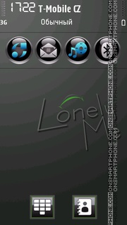 LonelyBlack theme screenshot