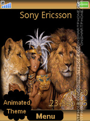 Lion Queen es el tema de pantalla
