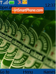 Heineken 02 theme screenshot