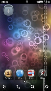Capture d'écran Jhapi thème