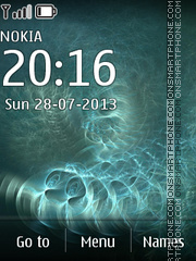 Fractal Circles theme screenshot