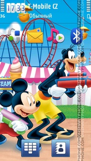 Mickey 11 theme screenshot