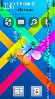Butterfly 39 theme screenshot