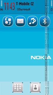 Series Nokia es el tema de pantalla