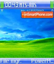 Aanex One Glow theme screenshot
