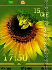 Autumn sun theme screenshot
