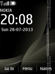 Black Steel theme screenshot