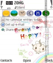 Happy day theme screenshot