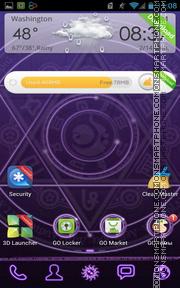 Magic Circle 01 es el tema de pantalla