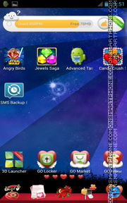 Love Icons 01 es el tema de pantalla