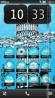 Capture d'écran Right Way 01 thème