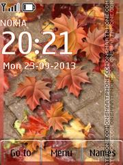 Autumn Day es el tema de pantalla