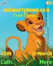 Simba theme screenshot