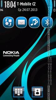 Rays Nokia es el tema de pantalla