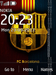 Barcelona Asha 300 theme screenshot