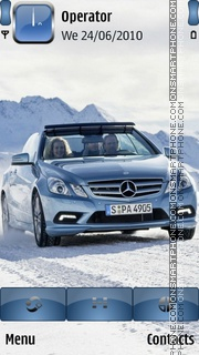 Mercedes Benz Classe es el tema de pantalla