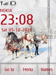 Russian Winter es el tema de pantalla
